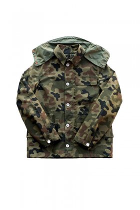 Nigel Cabourn × KARRIMOR K100 - SHORT MOUNTAIN RUCKSACK JACKET - CAMO MIX