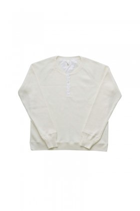 humoresque - WAFFLE SWEAT - WHITE - MENS