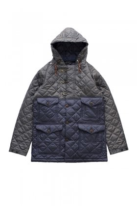 38e1920d7931 Nigel Cabourn × LAVENHAM - QUILTED CAMERAMAN JACKET - CHACOAL ¥ 138
