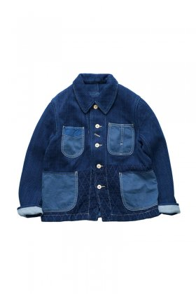 Porter Classic - KENDO FRENCH JACKET - INDIGO BLUE