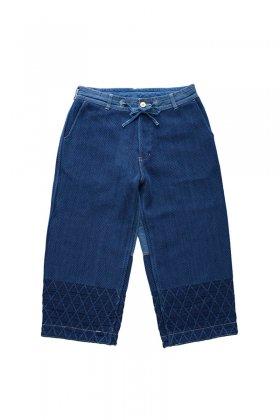 Porter Classic - KENDO PANTS - INDIGO BLUE