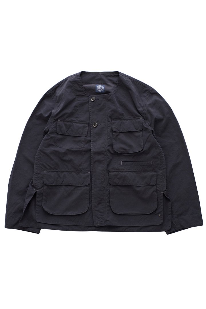 WEATHER NO COLLAR JACKET – NAVY|37,800円(税込)