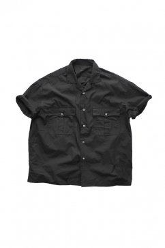 Porter Classic - KEROUAC SHIRT - BLACK