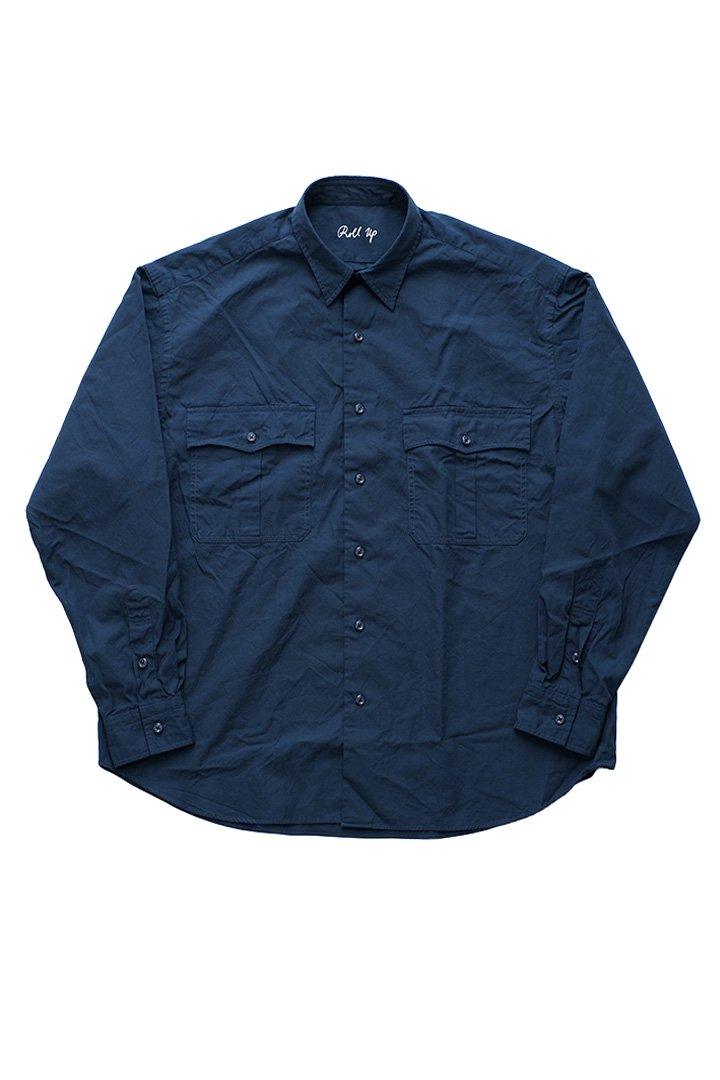 ROLL UP SHIRT – NAVY|42,120円(税込)