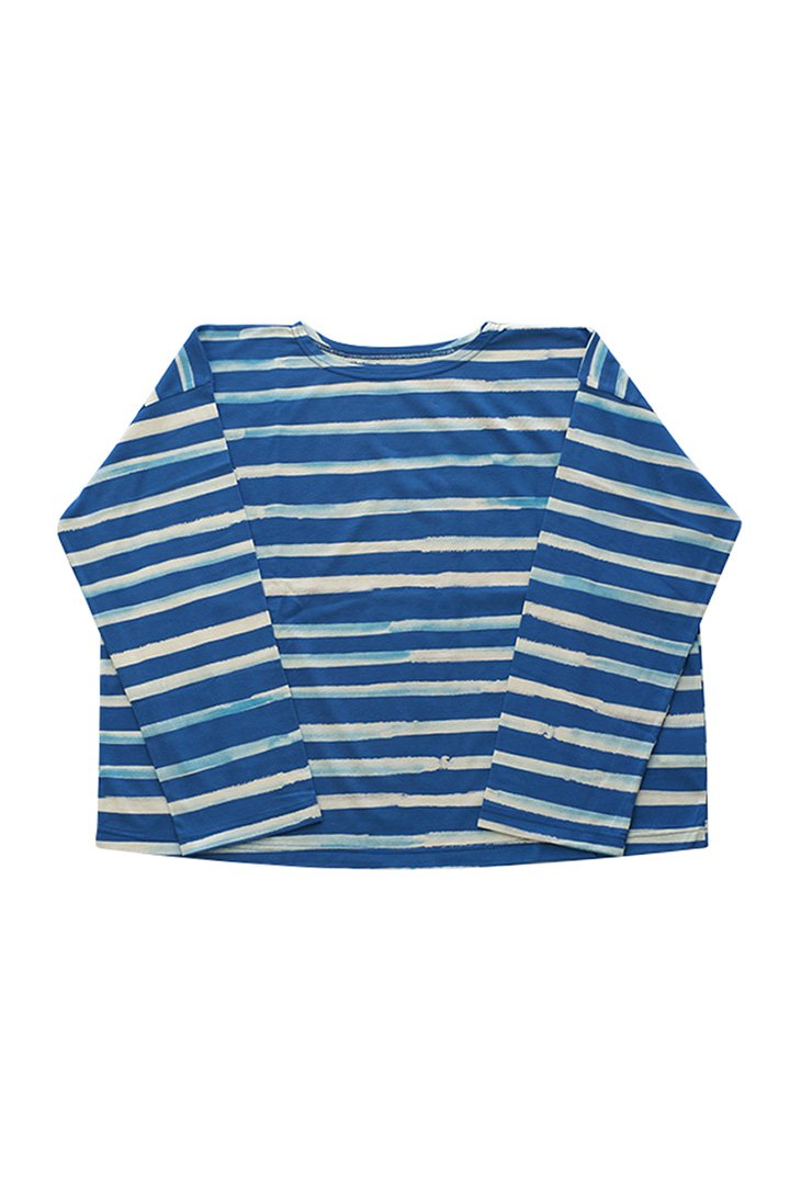 ARTIST BORDER LONG T-SHIRT – BLUE|23,760円(税込)