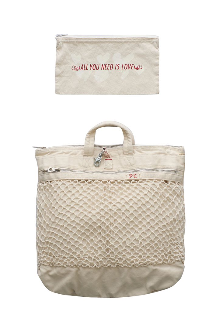 CANVAS NET HELMET BAG M – WHITE|36,720円(税込)