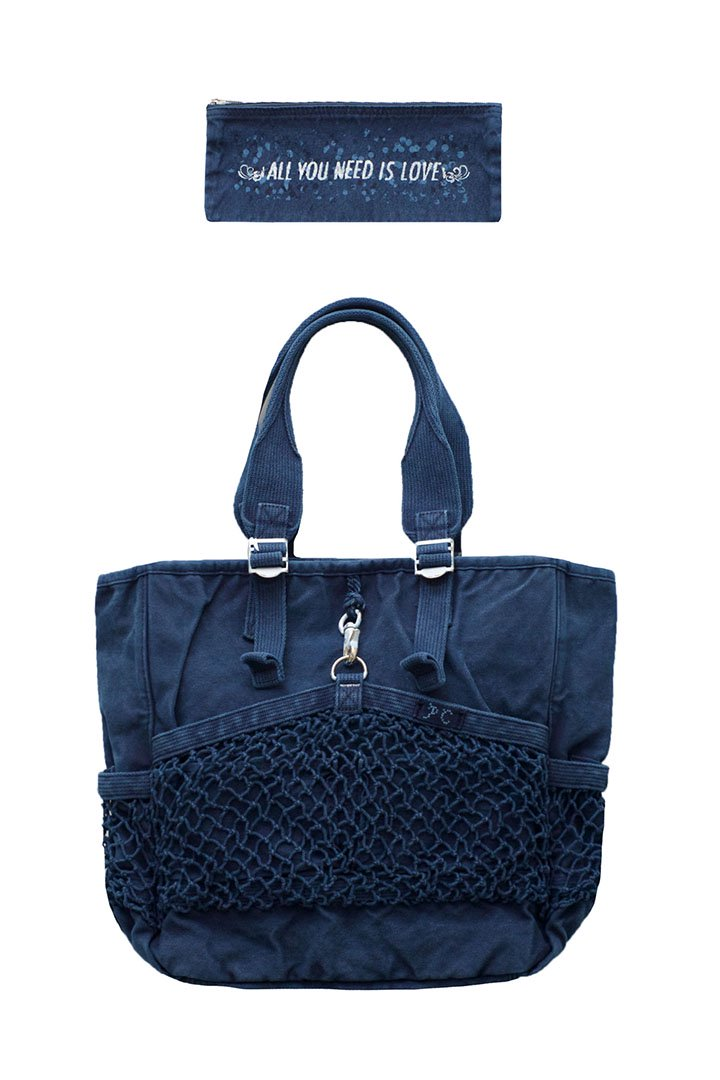 CANVAS NET TOTE BAG – BLUE|38,880円(税込)