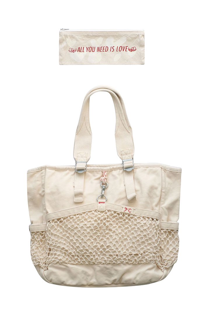 CANVAS NET TOTE BAG – WHITE|38,880円(税込)