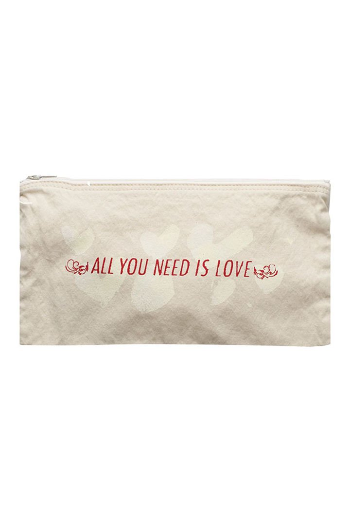 CANVAS POUCH L – WHITE|5,400円(税込)