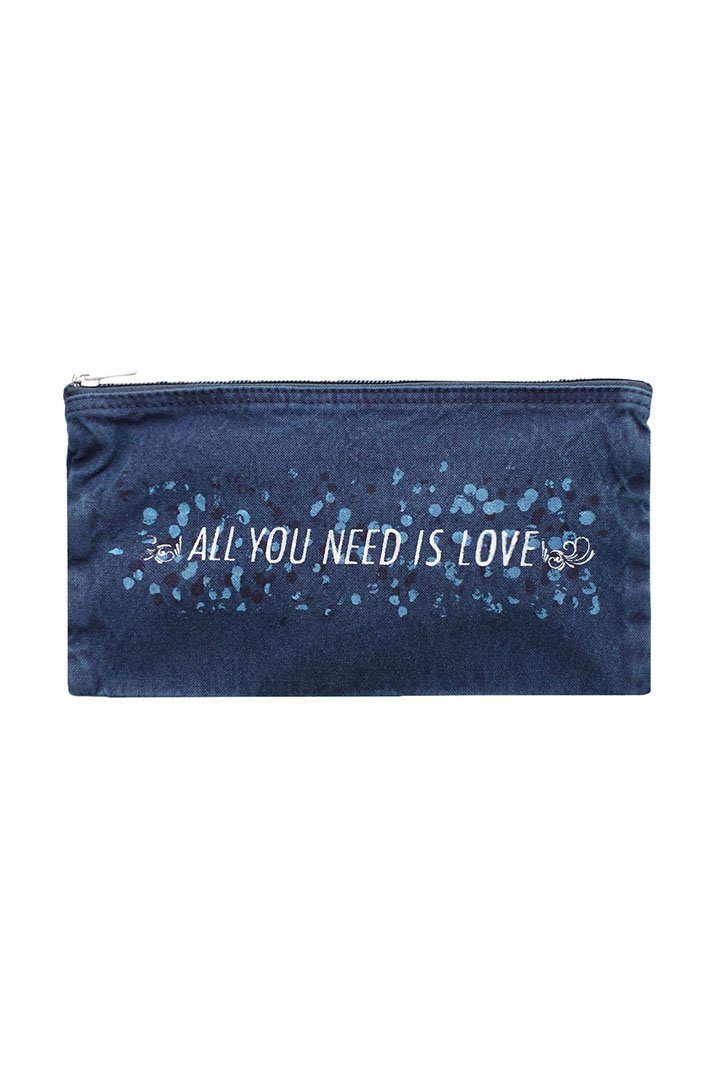 CANVAS POUCH M – BLUE|5,400円(税込)