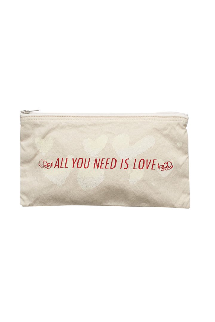 CANVAS POUCH M – WHITE|5,400円(税込)