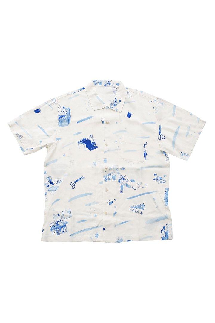 ALOHA SHIRT – WHITE|34,560円(税込)