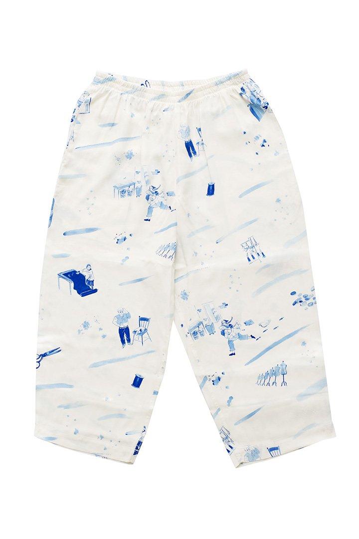 ALOHA PANTS – WHITE|32,400円(税込)