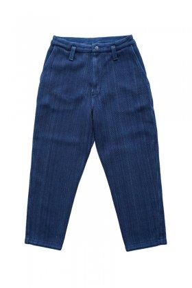Porter Classic - KENDO CROPPED PANTS - INDIGO BLUE
