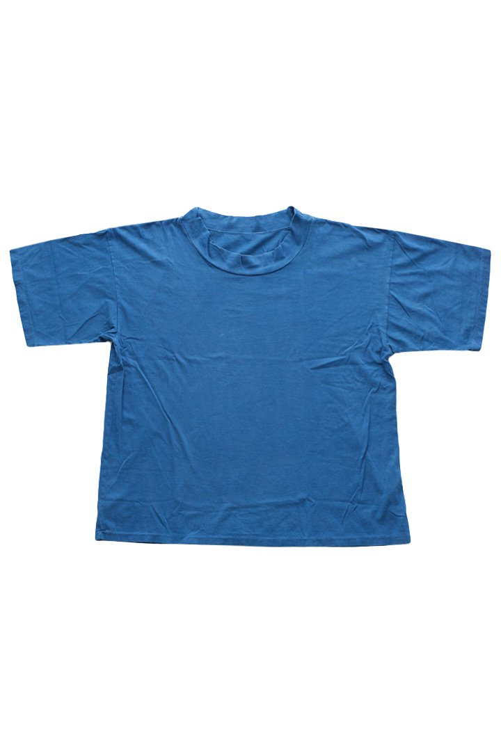 Porter Classic – HIGH NECK T-SHIRT – BLUE|16,200円(税込)
