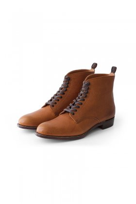 OLD JOE - LACE UP FIELD BOOTS - CAMEL