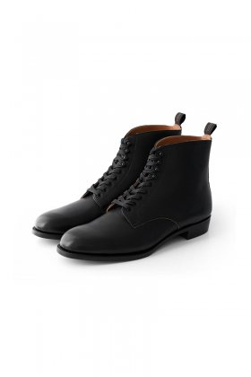 OLD JOE - LACE UP FIELD BOOTS - BLACK