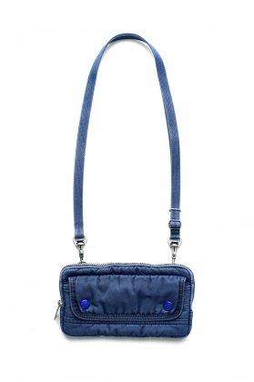 Porter Classic - SUPER NYLON WALLET POUCH - INDIGO BLUE