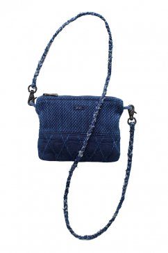 Porter Classic - KENDO SIMPLE POUCH(S)- INDIGO BLUE