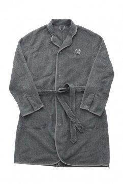 Porter Classic - FLEECE GOWN COAT - GRAY