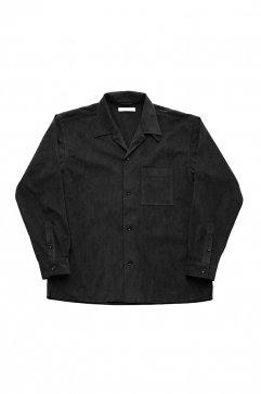 OLD JOE - OPENED COLLAR SHIRTS - BLACK