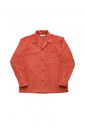 OLD JOE ★★★ - EXCLUSIVE OPENED COLLAR SHIRTS - TOMATO