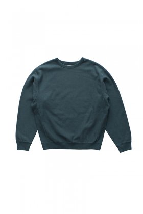 OLD JOE ★★★- EXCLUSIVE HARD COTTON CREW NECK SWEAT - FORESTA