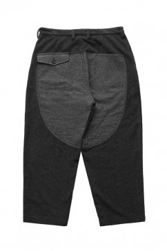 Porter Classic - CASHMERE WIDE PANTS - GRAY