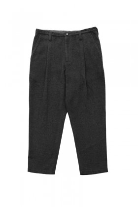 Porter Classic - CASHMERE CROPPED PANTS - GRAY