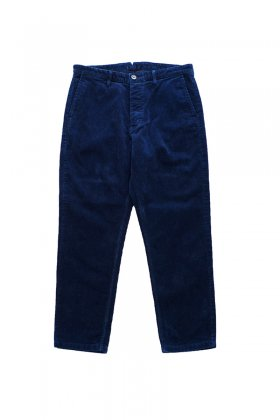 PANTS - Porter Classic - CORDUROY PANTS 2013AW - BLUE - EXCLUSIVE - Price 75,600 tax-in