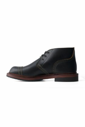 RED WING × Nigel Cabourn - MUNSON B-5 CHUKKA - BLACK