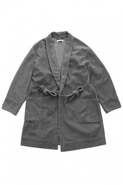 OLD JOE - ARMY WRAP CHORE COAT - PEWTER