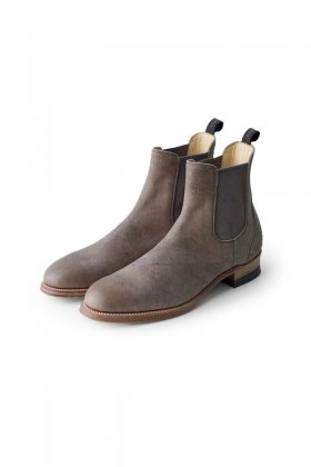 OLD JOE - KUDU LEATHER SIDE GORE BOOTS - STONE