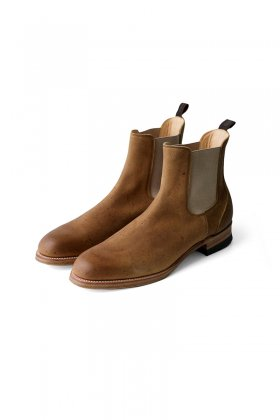 OLD JOE ★★★ - EXCLUSIVE KUDU LEATHER SIDE GORE BOOTS