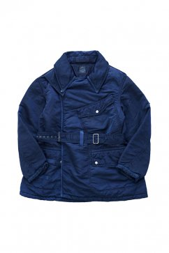 Porter Classic - SUPER NYLON MILITARY COAT - BLUE