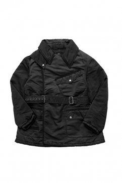 Porter Classic ★★★ - SUPER NYLON MILITARY COAT - BLACK - EXCLUSIVE
