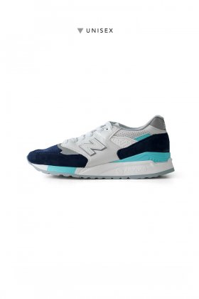 New Balance - M998 WTP - WHITE/NAVY UNISEX
