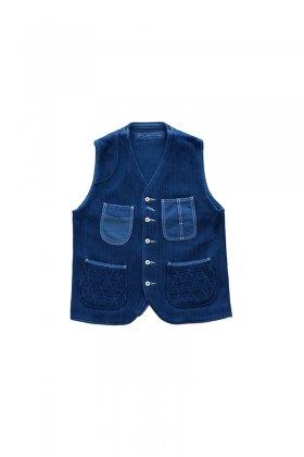 Porter Classic - KENDO VEST - INDIGO BLUE