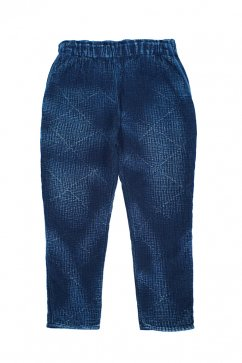 Porter Classic - SASHIKO LIGHT MEN'S PANTS - NEW BLUE