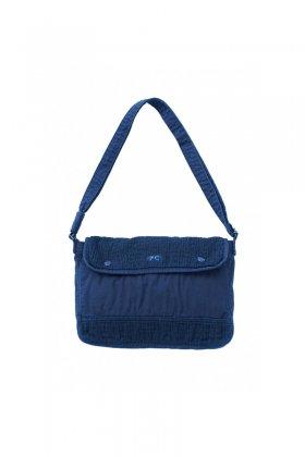 Porter Classic - SASHIKO LIGHT SHOULDER BAG M - NEW BLUE