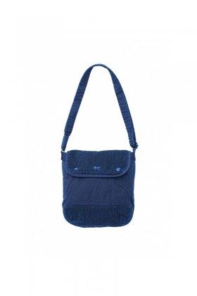 Porter Classic - SASHIKO LIGHT SHOULDER BAG S - NEW BLUE