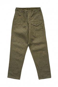 Nigel Cabourn - BATTLE DRESS PANT C/L DENIM - OLIVE
