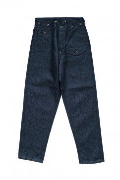 Nigel Cabourn - BATTLE DRESS PANT C/L DENIM - INDIGO