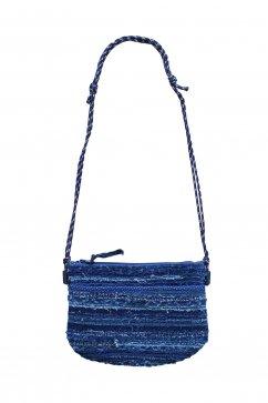 Porter Classic - HA GI RE MINI SHOULDER BAG - BLUE