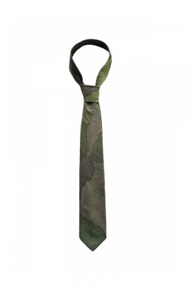 Nigel Cabourn - TIE REVERSIBLE CAMO - OLIVE