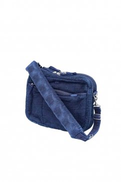 BAG - Porter Classic - NEWTON SASHIKO SHOULDER BAG - NEW BLUE - Price 36,000 tax-in