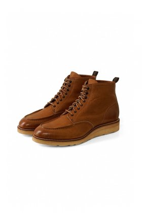 OLD JOE - MOC TOE BOOTS - CAMEL