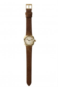OLD JOE ★★★ - EXCLUSIVE EXCELSIS (WRISTWATCH) /BADARASSI LEATHER - GOLD x KUDU LEATHER