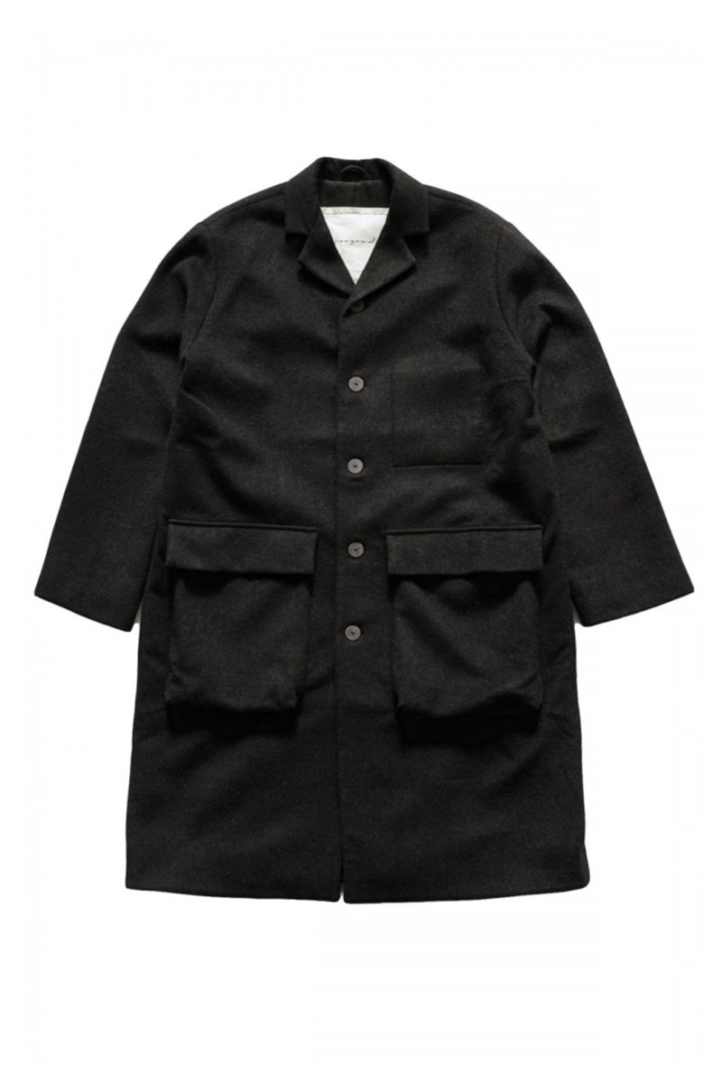 toogood - THE PHOTOGRAPHER COAT - CASHMERE HW FLINT - PRICE  594,000 tax-in