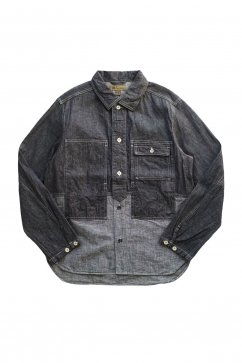 Nigel Cabourn - UTILITY JACKET 7.5oz DENIM